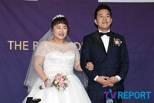 """홍윤화-김민기 """"잘 살겠습니다"""""""