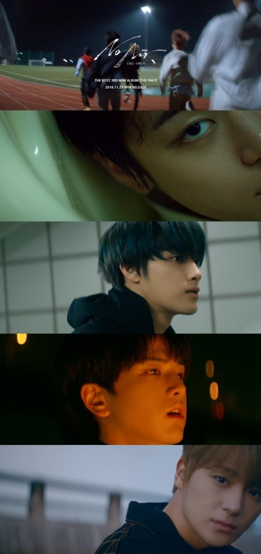 청춘영화 주인공…더보이즈의 'THE ONLY'