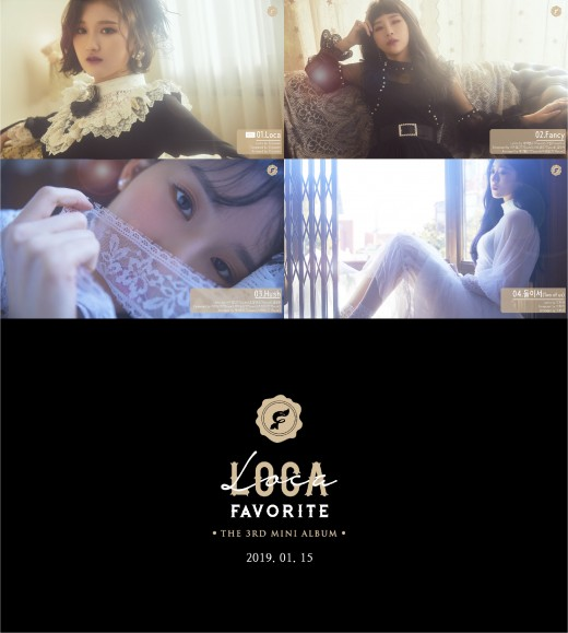 페이버릿, 프리뷰 영상으로 전한 색다른 매력…'LOCA' 15일 공개