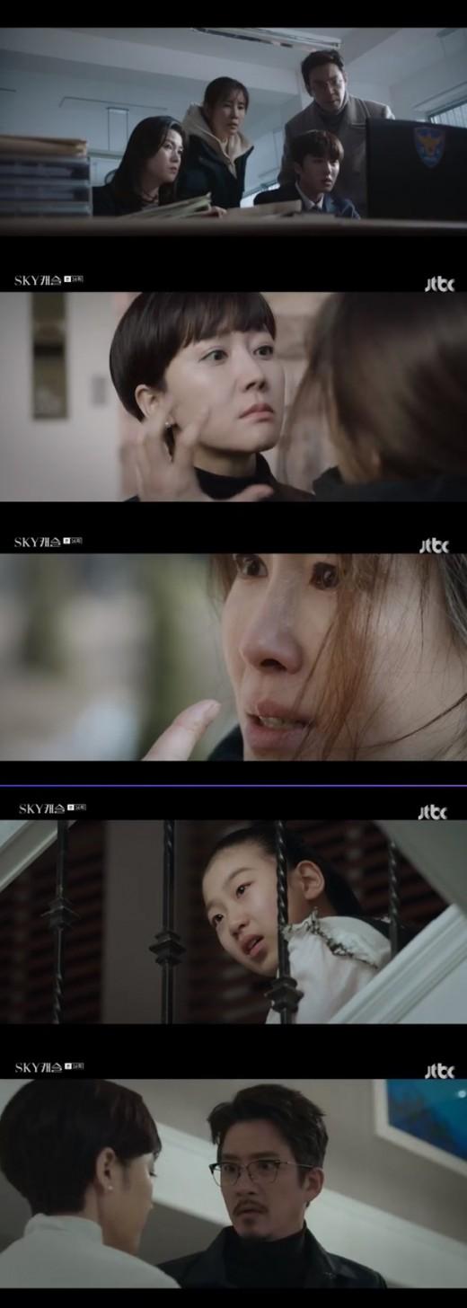 """""""넌 무서운 게 없니?""""..'스카이캐슬' 김서형, 김보라 죽인 진범일까? _이미지"""