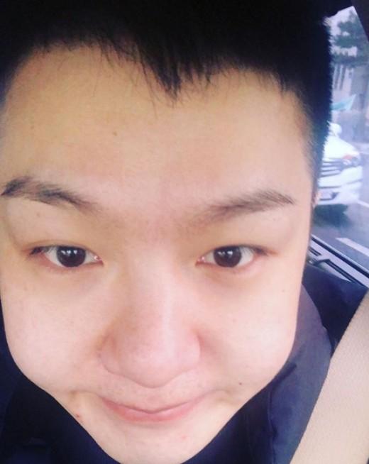 """비투비 이창섭 오늘(14일) 입대…삭발머리 공개 """"다녀오겠습니다"""""""