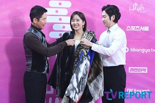 김소현 '신동엽-김희철 매너에 웃음 빵빵'