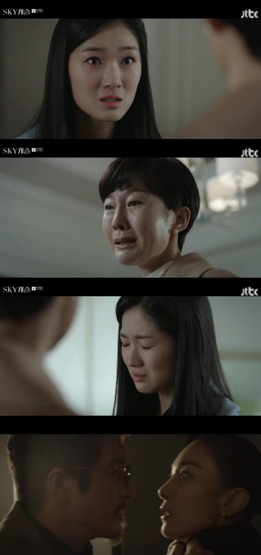 'SKY 캐슬 정준호, 김서형=김혜나 살인범 알았다... 목 조르며 분노_이미지2