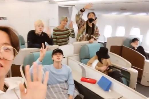 """방탄소년단, 그래미 참석 위해 오늘(9일) 출국 """"잊지 못할 선물, 감사""""_이미지"""