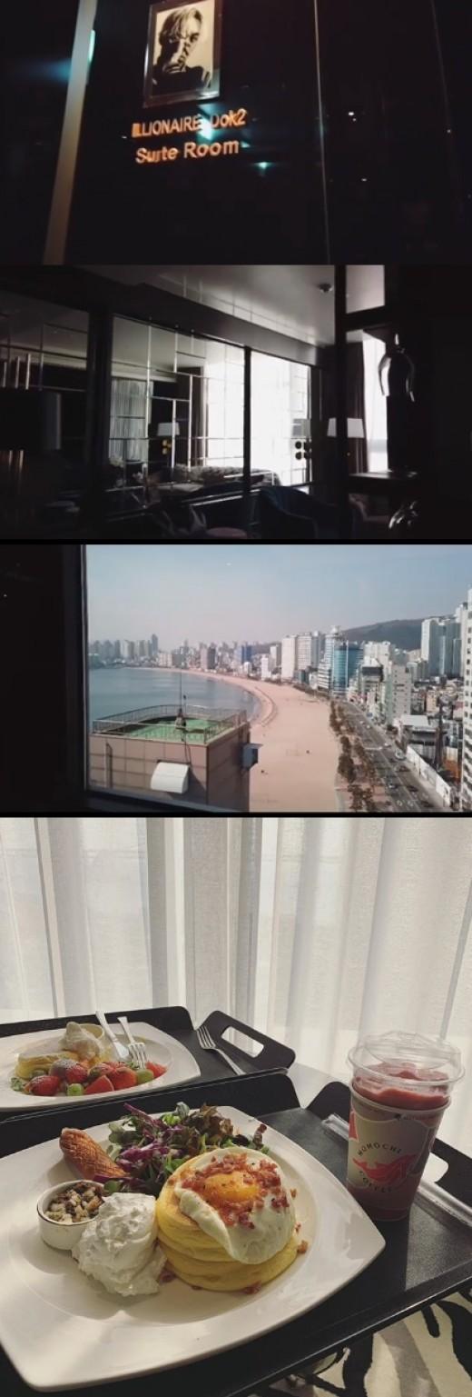"""도끼, 호텔 CEO 됐다 """"오늘 오픈, 저의 부티크 호텔"""" 럭셔리 내부+뷰+디저트 공개"""