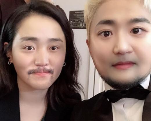 유병재, 문근영과 '얼굴 바꾸기' 셀카 공개 '웃음'