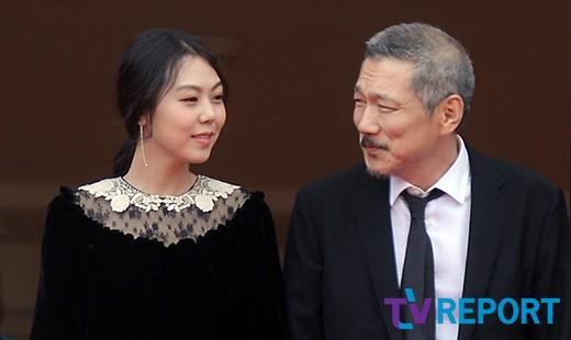 홍상수x김민희 또 기자회견 불참..당당 공개데이트와 대조적