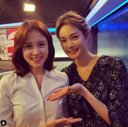 안현모X장예원, 미녀들의 만남