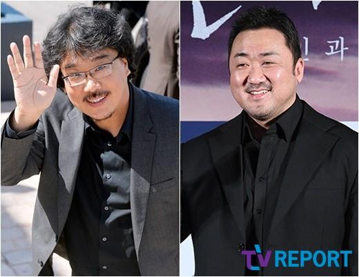 봉준호·송강호·마동석 칸行..'기생충' 경쟁+'악인전' 미드나잇