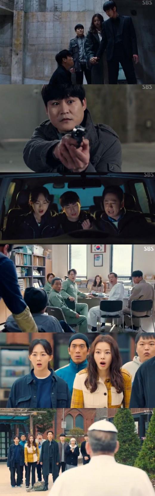 '열혈사제' 김남길X이하늬X김성균, 악의 무리 응징하고 해피엔딩