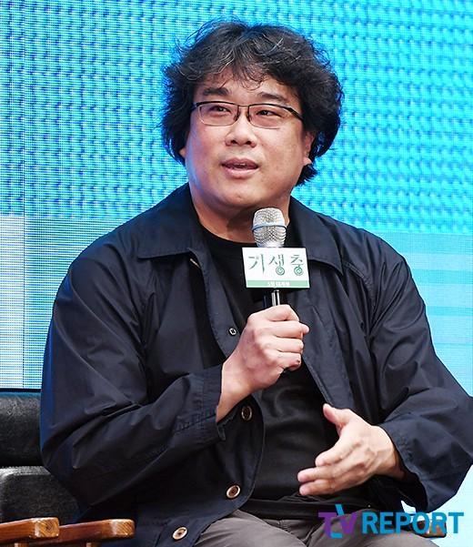 """봉준호 감독 """"기생충 출연NO..위생적으로 완벽한 영화"""""""