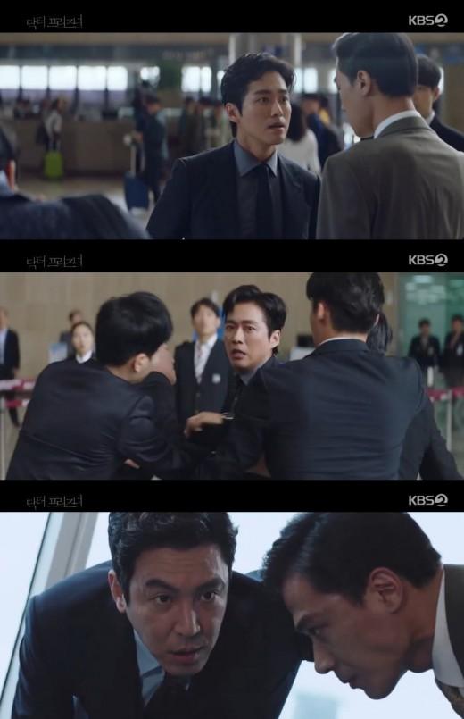 '닥터 프리즈너' 최원영, 남궁민에 백승익 빼앗기고 독기... 권나라 공격하나?_이미지