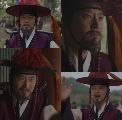 '녹두꽃' 윤서현, 불꽃 카리스마로 홍계훈役 첫 등장…새로운 폭풍