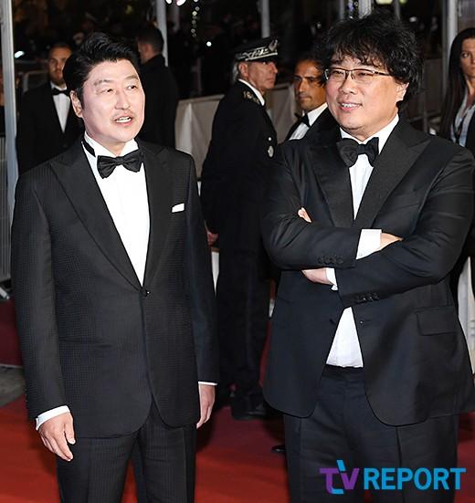 '기생충' 봉준호·송강호, 허민회 CJ대표 시상식 참석..황금종려 받을까_이미지