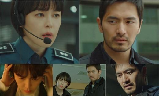 '보이스3' 이진욱X이하나, 불안한 공조 시작…시한폭탄 품은 파트너