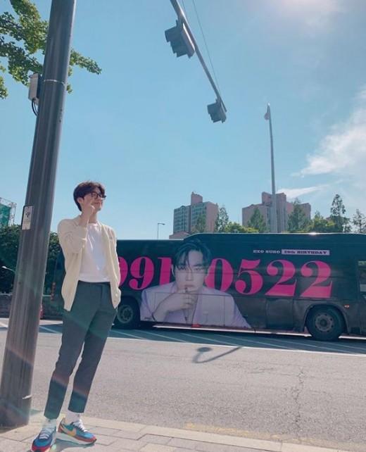 """""""엑소엘 고마워"""" 엑소 수호, 세상 제일 완벽한 생일"""