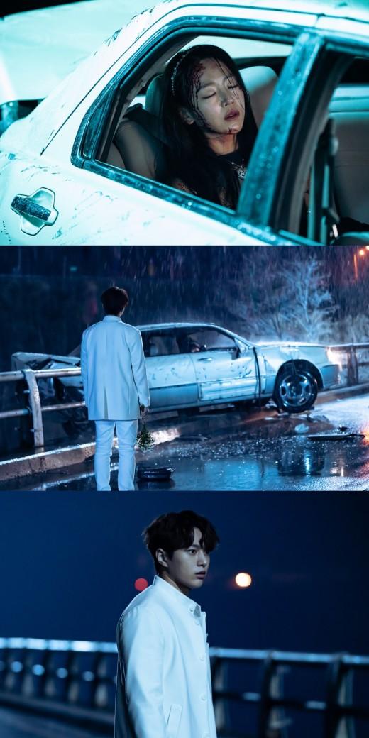 '단 하나의 사랑' 신혜선, 교통사고 현장…김명수 표정이 의미하는 것