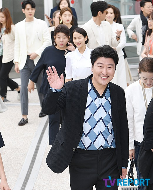 송강호 '해맑은 미소'