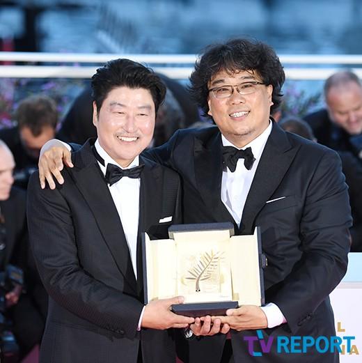 송강호-봉준호 '칸국제영화제의 주인공'