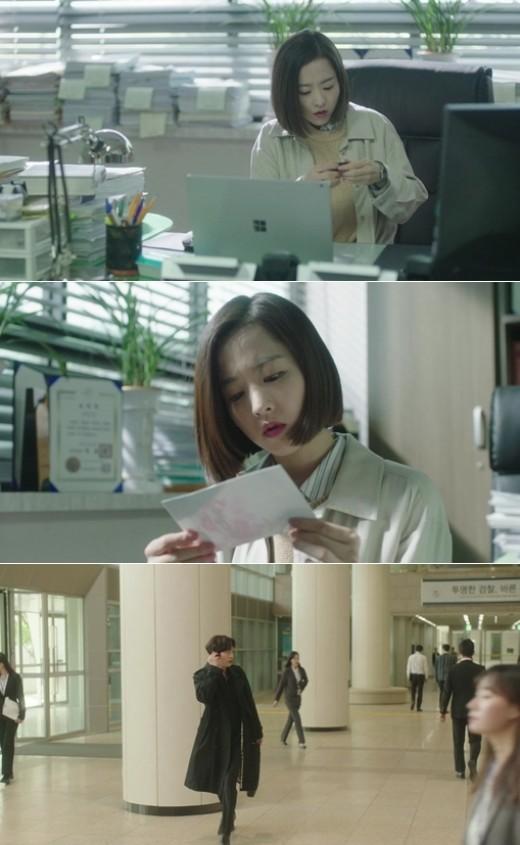 '어비스' 박보영, 권수현 사무실 기습…'이성재 子' 사실 알아챌까