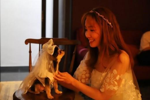 '6월의 신부' 신보라, 미리 보는 웨딩드레스 자태_이미지