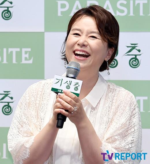 장혜진 '팬들 환호에 미소 활짝~'