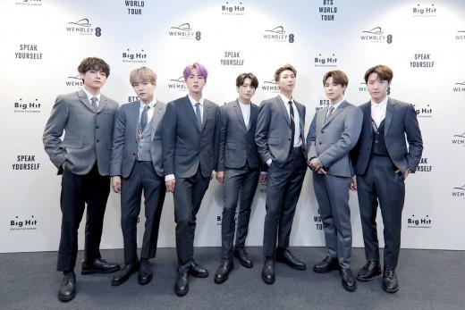 BTS, '작은 것들을 위한 시' RIAA '플래티넘' 인증…韓 가수 최다 기록