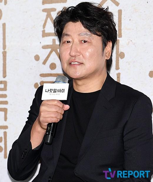 """'나랏말싸미' 송강호 """"세종대왕 연기, 벅차고 영광스러워"""""""