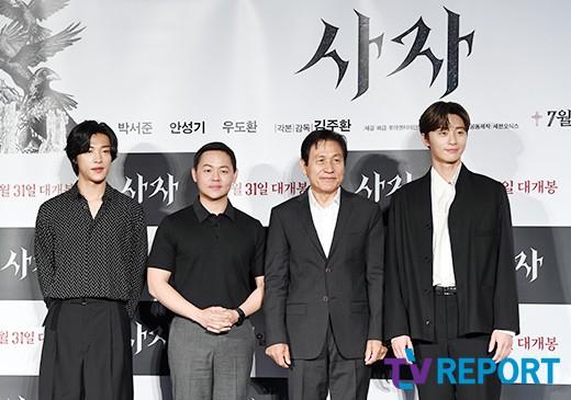 '사자' 박서준X김주환 감독, '청년경찰' 흥행 이을까