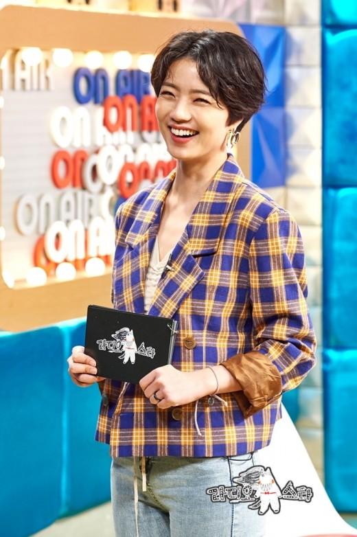"""안영미 """"'라스' 최초 여성 MC, 선입견 깨서 의미 있다""""_이미지"""