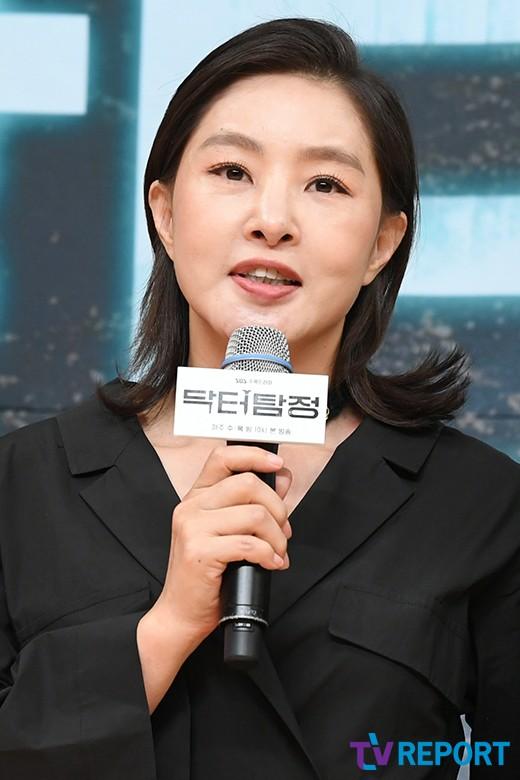 """박지영 """"워커홀릭 노처녀로 나와요"""""""