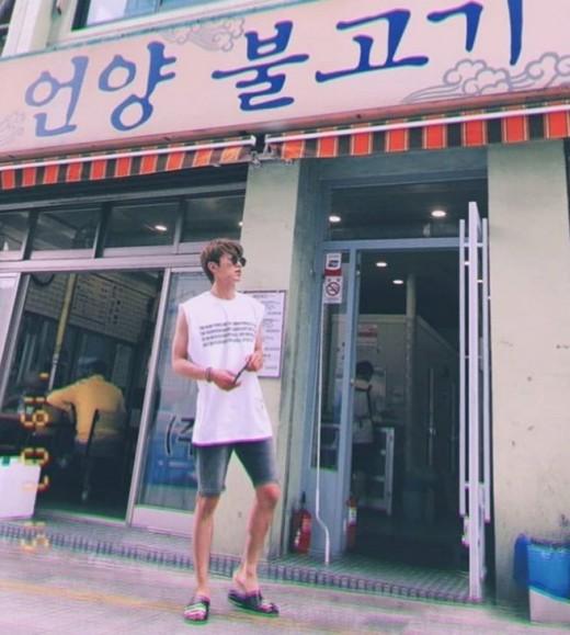 부산에 나타난 '열정 만수르'…유노윤호, 우정 여행 인증샷