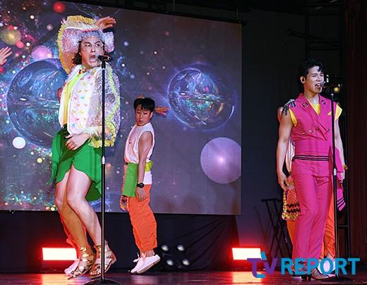 노라조 '패션부터 시선 강탈'