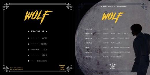 김우성의 'WOLF' 실루엣