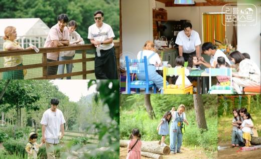 '리틀 포레스트' 첫 촬영…이서진X이승기X박나래X정소민, 아이들과 행복
