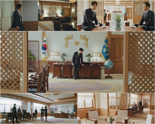 '60일, 지정생존자' 팀이 밝힌 청와대 세트 비하인드…#접견실 #복도 #봉황 장식