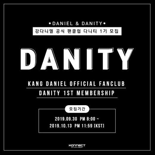 """""""다니티 모여라""""…분쟁 끝낸 강다니엘, 팬클럽 1기 모집"""