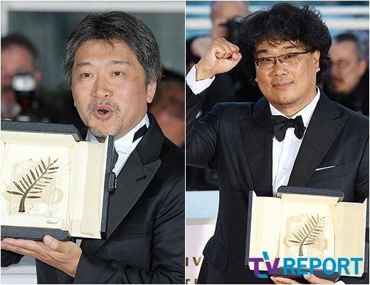 """봉준호 """"고레에다 히로카즈 '기생충' 황금종려 다음날 축하메일"""""""
