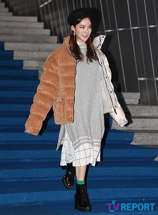 김나희 '한발 빠른 겨울 패션'