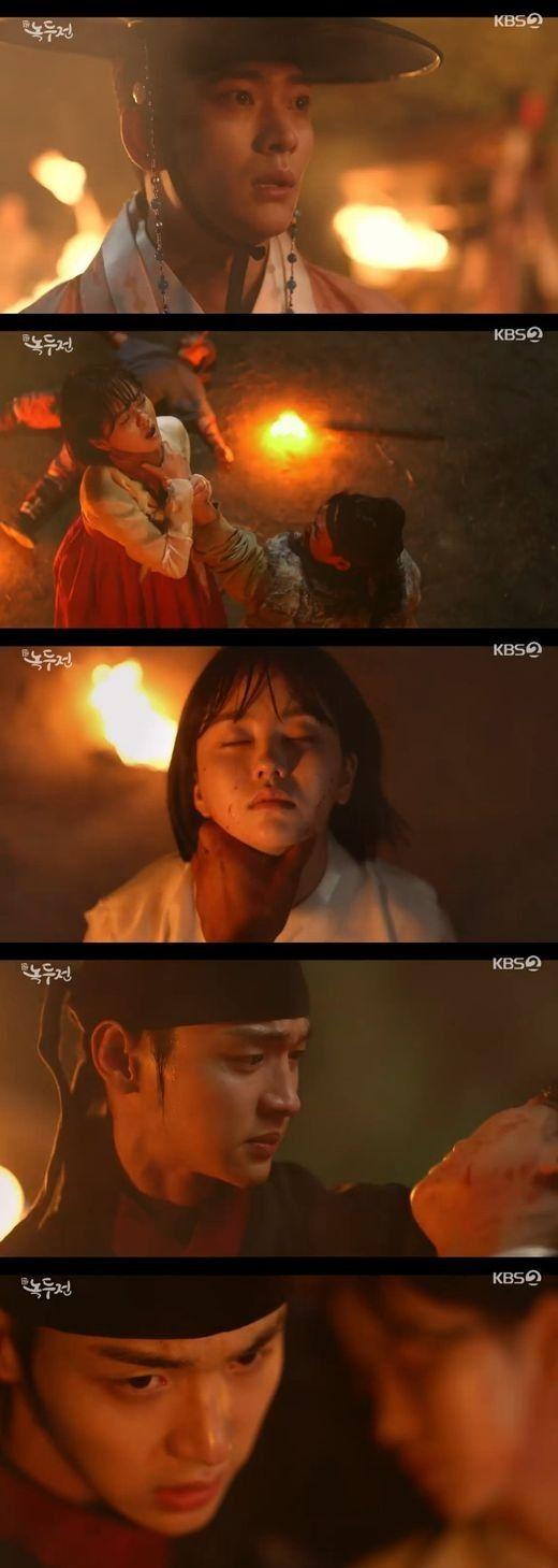 '녹두전' 장동윤, '왕의 아들' 진실에 경악... 혼절한 김소현 구했다