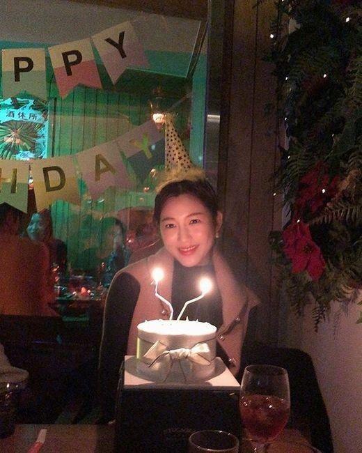 이다인, 행복한 생일파티... 케이크 앞에서 함박웃음_이미지