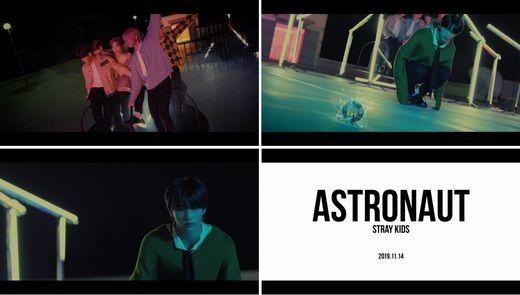 스트레이 키즈, 베일에 싸인 'Astronaut' 프롤로그 비디오 공개_이미지