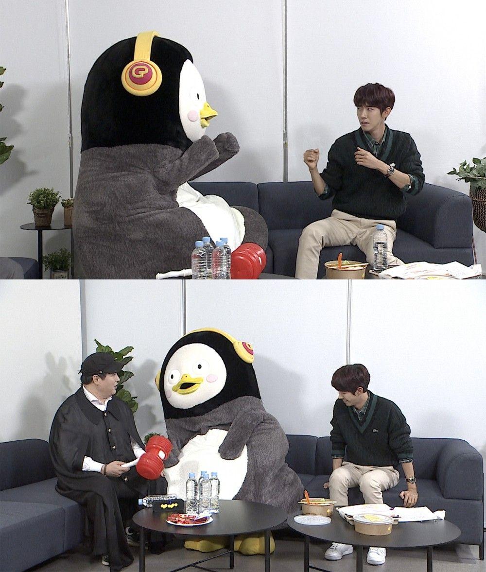 EBS 출신 펭수, JTBC '아는 형님' 녹화장 찾은 이유