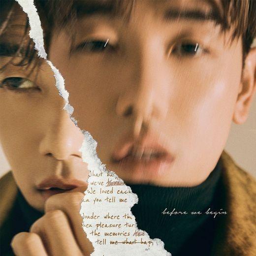 에릭남, 첫 영어앨범 'Before We Begin' 재킷 이미지 공개