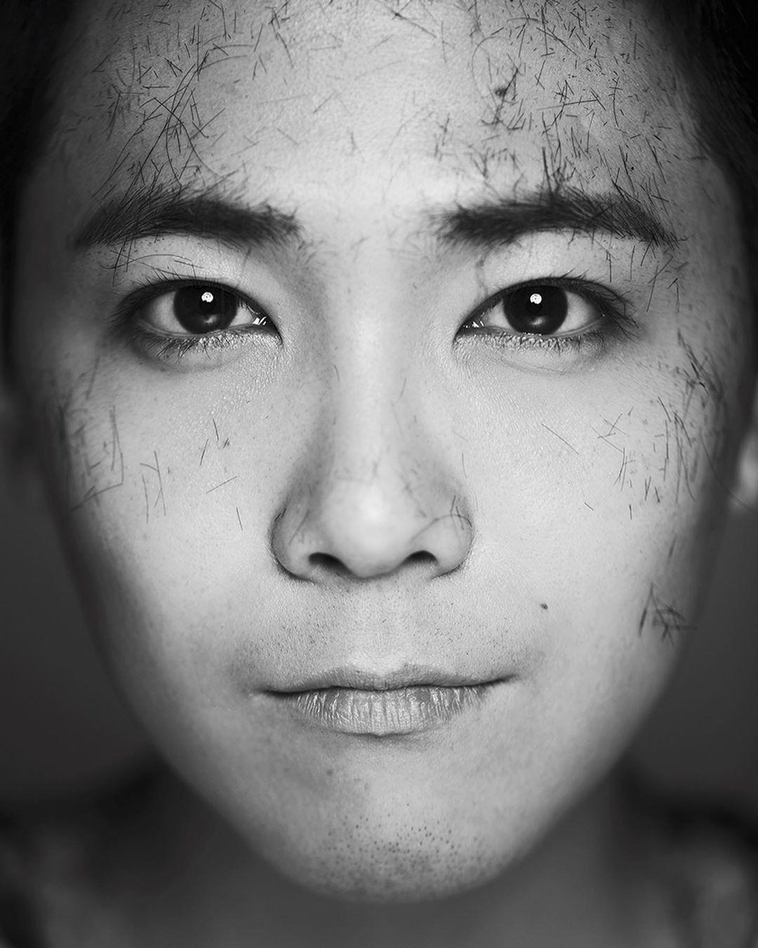 """""""삭발 후 미소""""…이홍기, 군 입대 전날의 기록"""