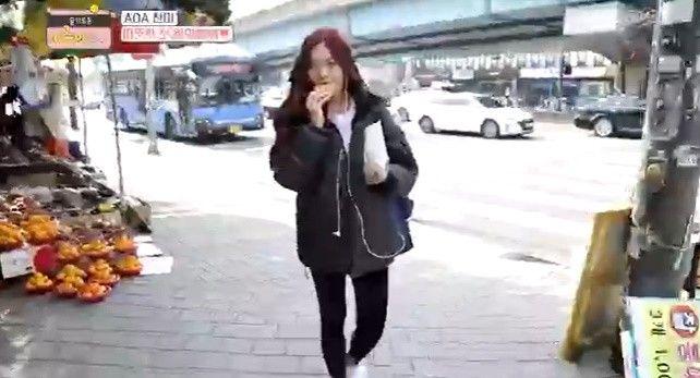 '어른이생활' AOA 찬미, 버스 타는 아이돌...아무도 못 알아봐