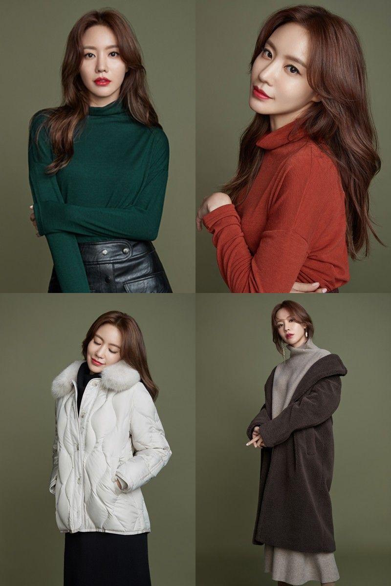 김아중, '연말룩' 스타일 제안…'레드립'으로 완성한 치명적 매력