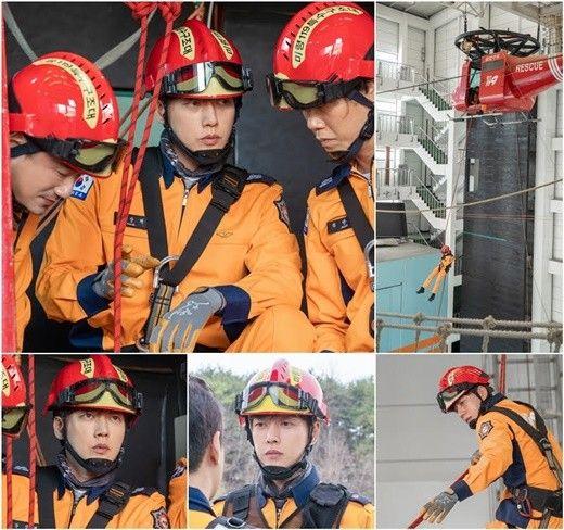 '포레스트' 박해진 119 항공구조대원 변신..고강도 훈련 포착_이미지