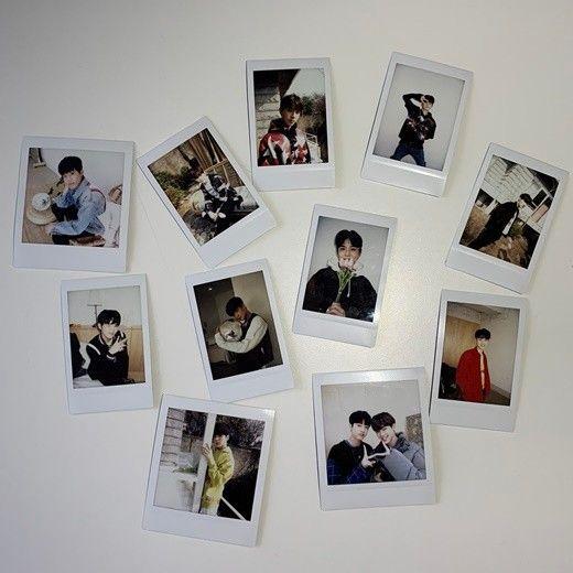 YG 트레저, 폴라로이드 사진 대방출 '소년미 폭발'