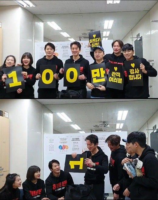 '히트맨' 5일째 100만 돌파..권상우표 코미디 통했다